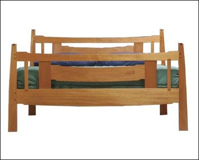 Arts And Crafts Bed Project Plan Woodworking Designs Fine Woodworking New Bedroom Design