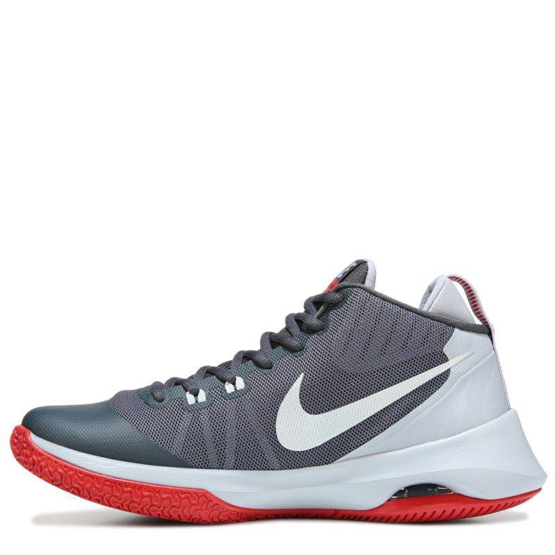 65f24f488f1 Nike Men s Air Versatile Basketball Shoes (Wolf Grey Univ. Red) - 14.0 M
