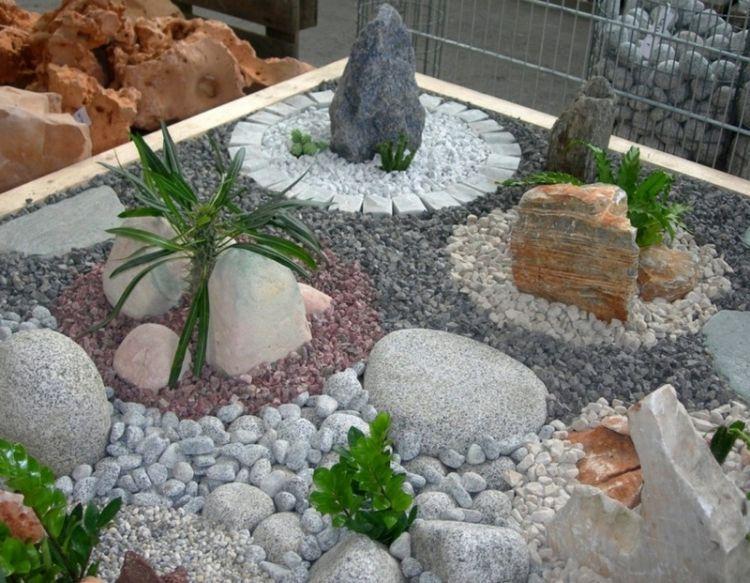 Gravier Decoratif Exterieur L Incontournable Dans La Deco Jardin Moderne Garden Stones Landscaping With Rocks Rock Garden Landscaping
