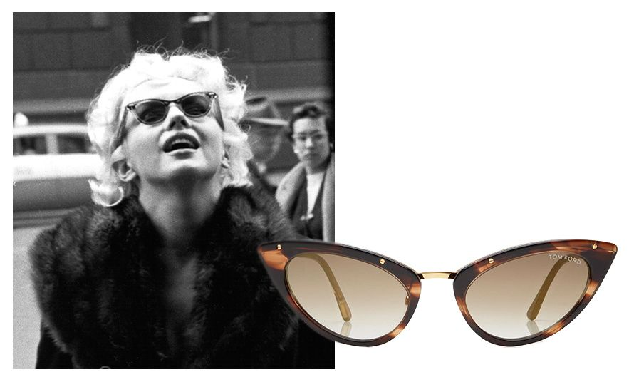 ca7a48c12bd4a Marilyn Monroe lunettes de soleil Tom Ford http   www.vogue.fr
