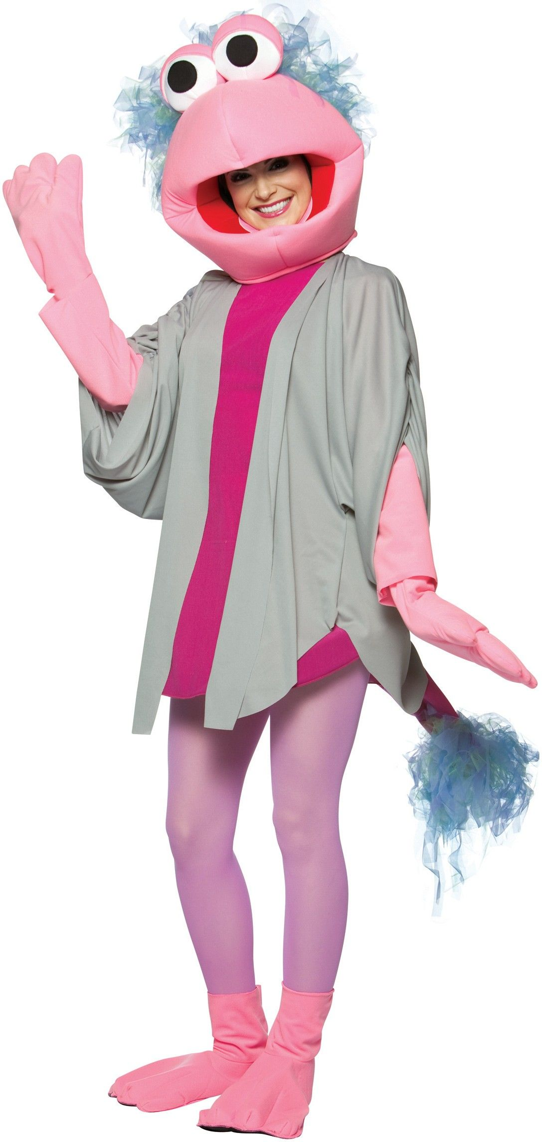 Fraggle Rock Mokey Adult Funny 80s Cartoon Costume