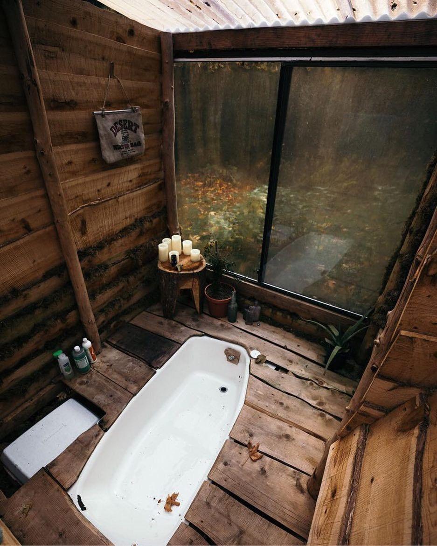 Cozy Cabin Bath In