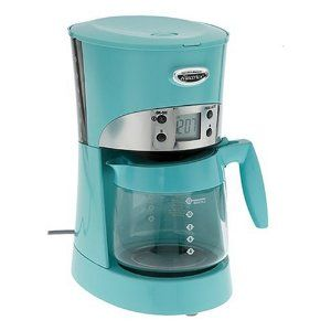 Turquoise coffee maker they no longer make it though for Apartment coffee maker