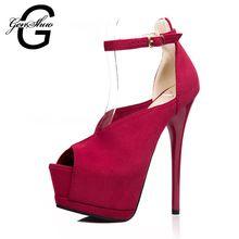 0eec750da8 Nova primavera mulheres bombas mulheres sapatos de plataforma de salto alto  14 cm de moda de alta qualidade Sexy de salto alto