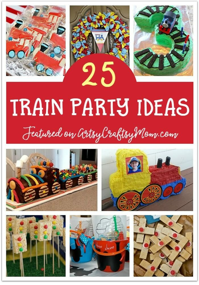 25 Awesome Train Party Ideas For Kids Thomas The Train