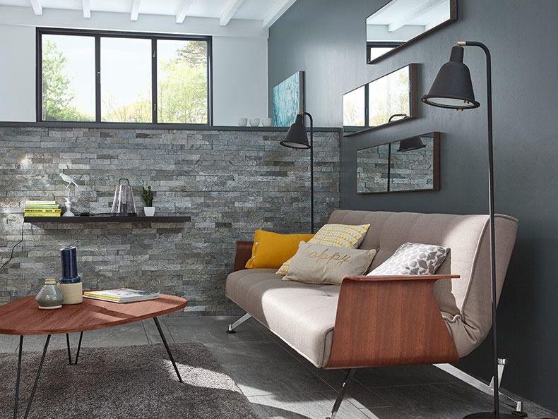 Grange revisitée - On aime le mobilier inspiré des années 70 qui