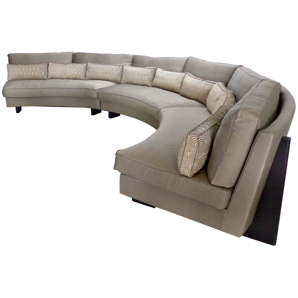 Umberto Asnago Mobilidea Semi Circular Sectional Sofa Italy Sectional Sofa Modern Sofa Sectional Italian Sofa Designs