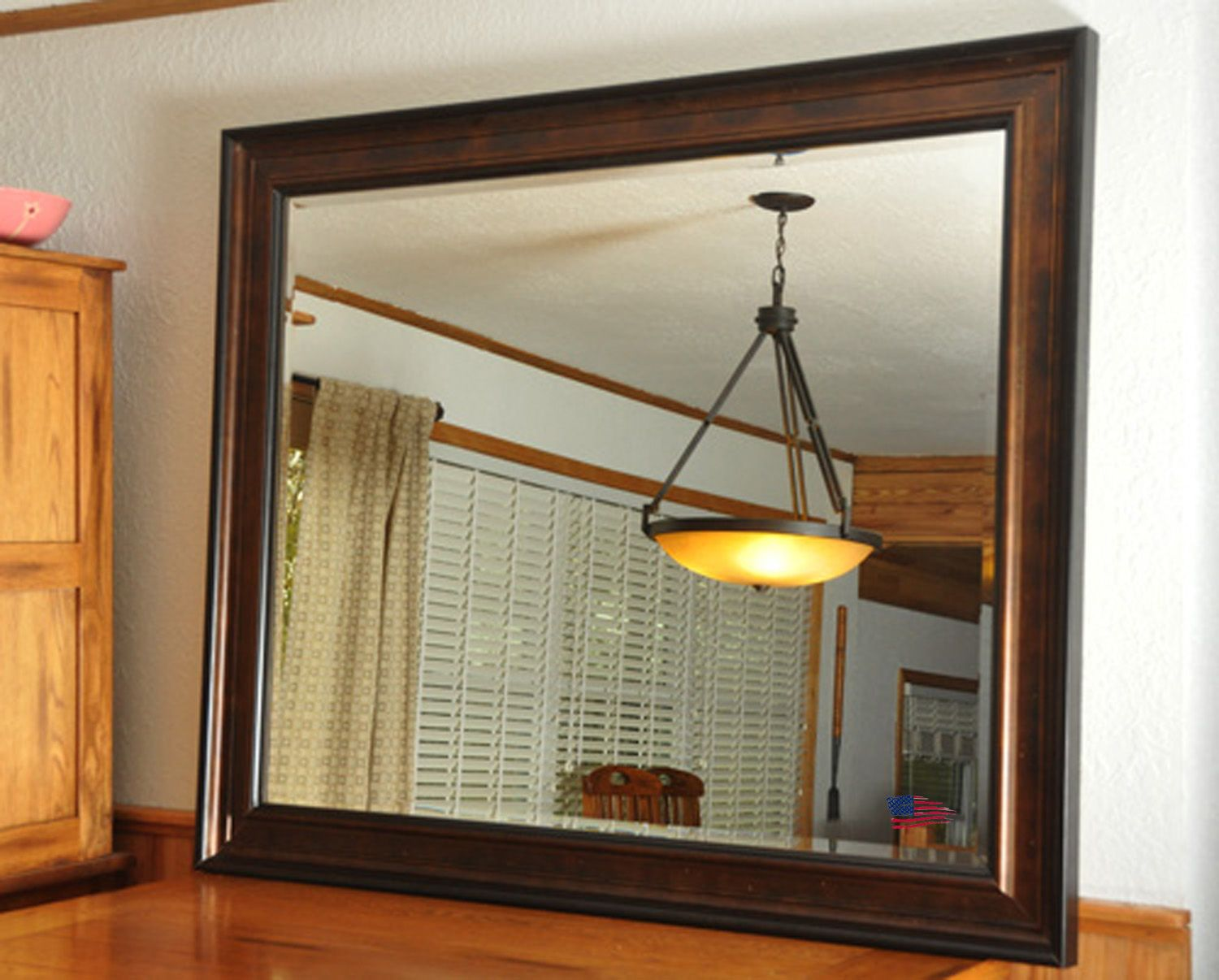Try something new — hang or lean a large Rayne Mirror on