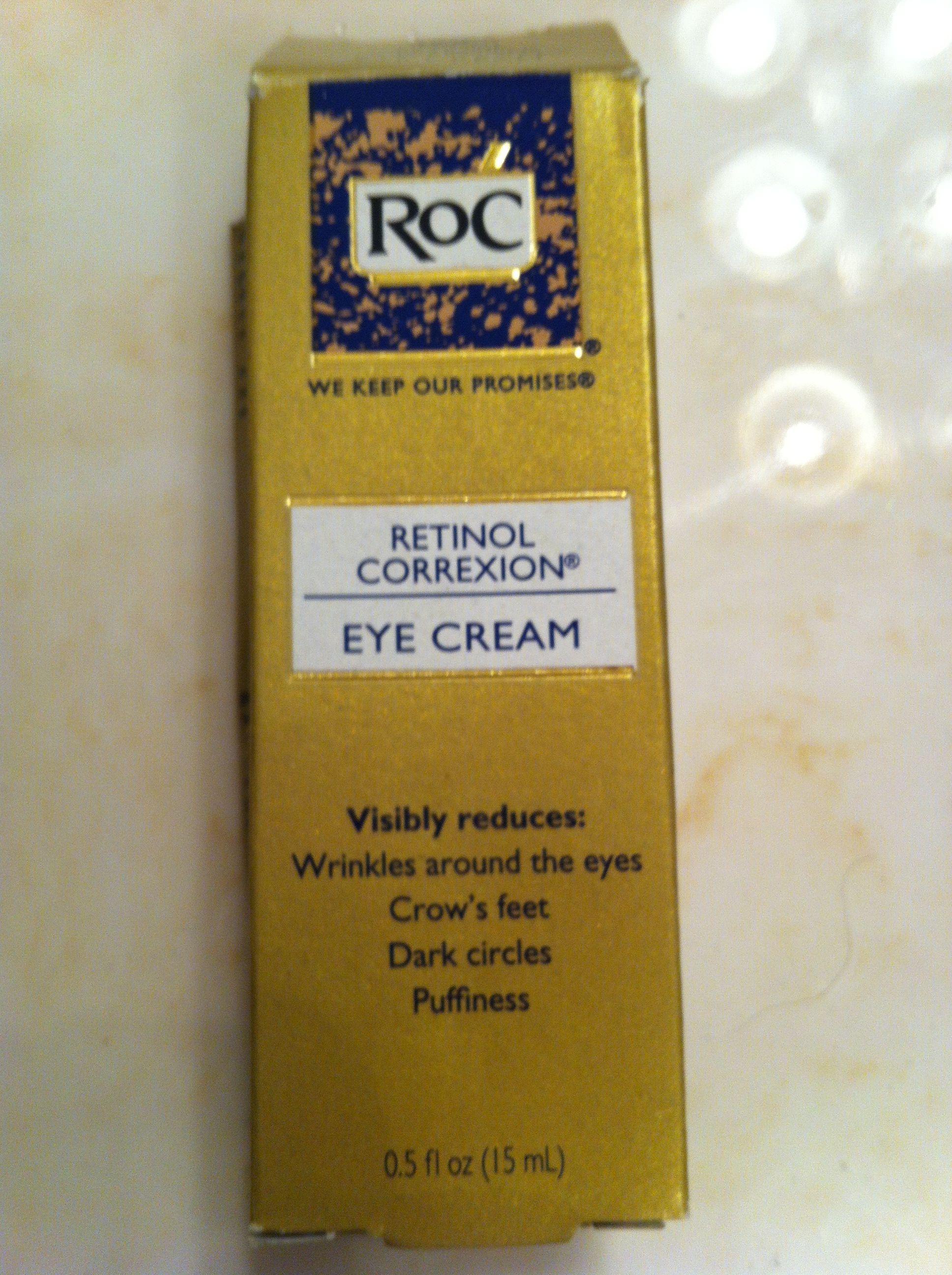 Under eye retinal cream