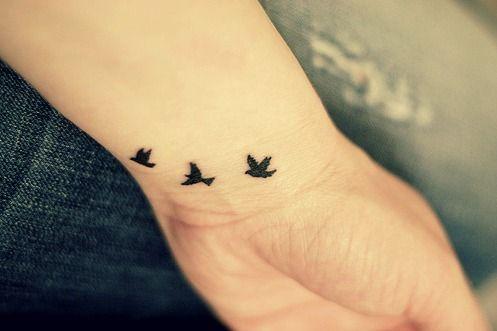 Simplistic Birds Freedom Tattoo Tattoos Black Bird Tattoo Love Tattoos