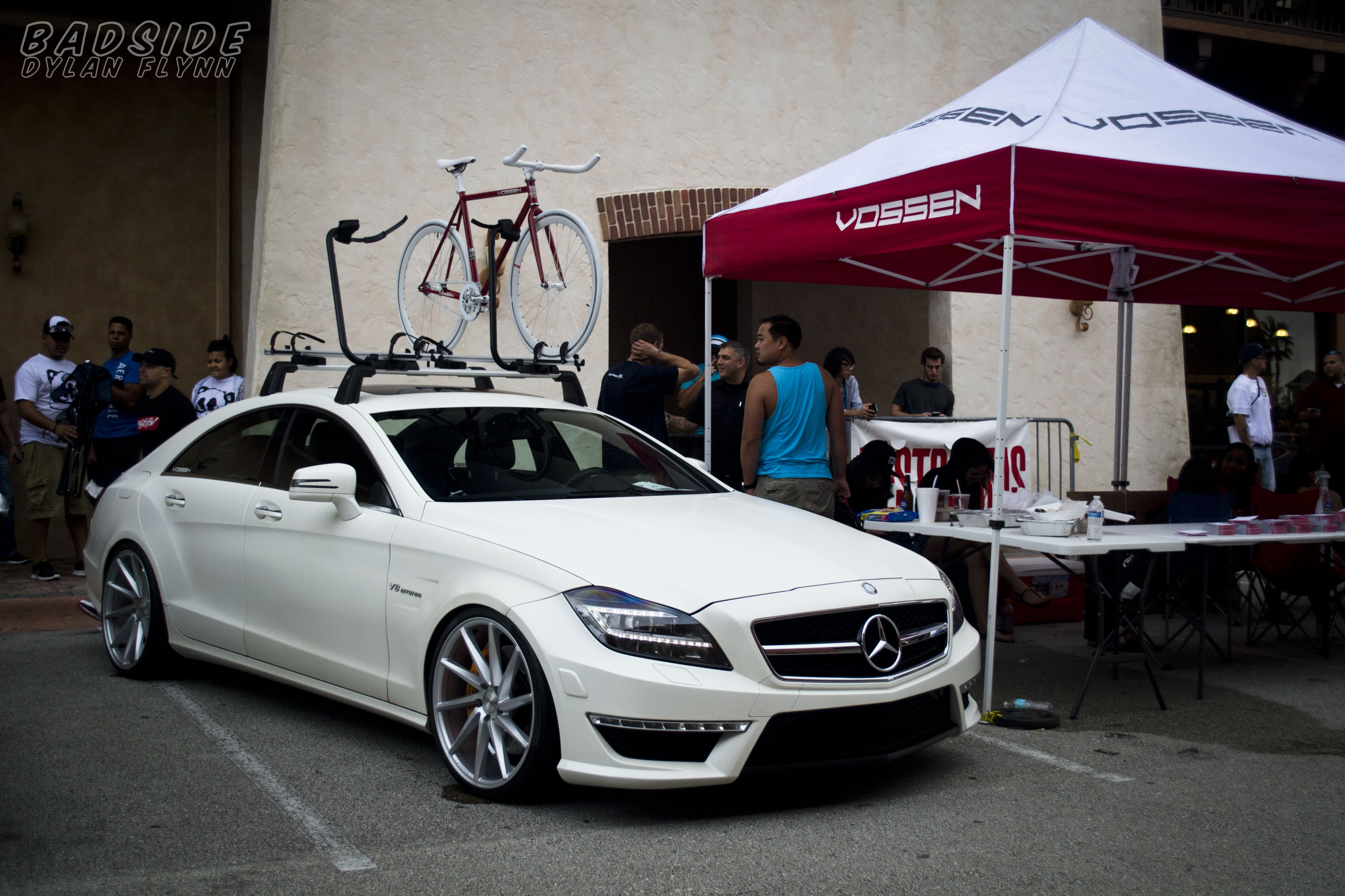 Simply clean 5 mercedes benz cls63 showcasing our new for Mercedes benz roof rails