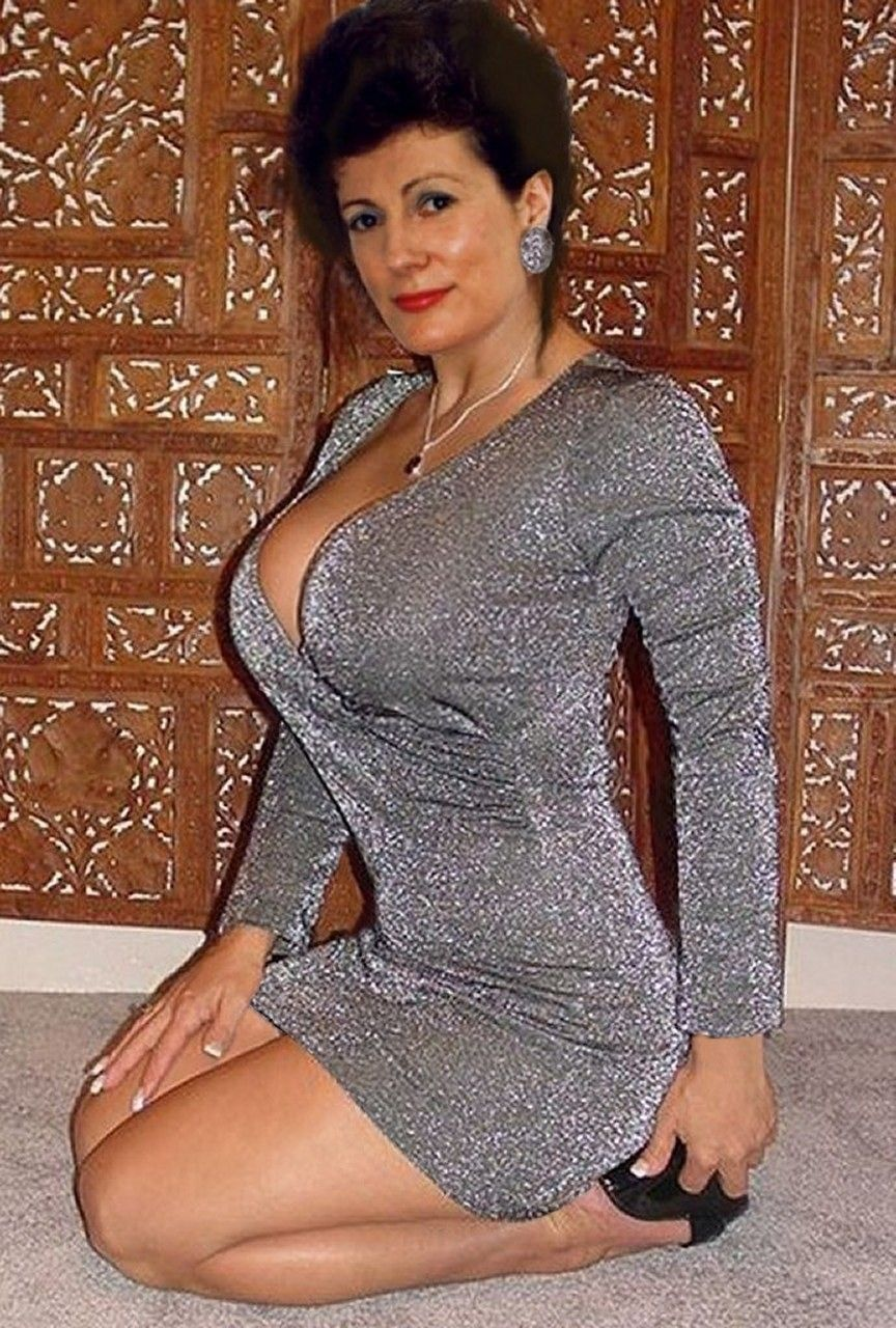 Busty Cute Mature Woman