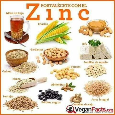 Alimentos ricos en zinc vitaminas y minerales pinterest natural - Alimentos ricos en gluten ...