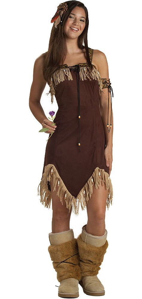 teen girls princess native american costume party city