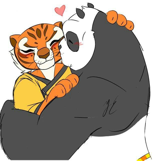 Pin en Po X Tigress
