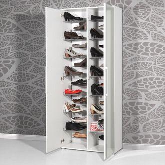 Meuble A Chaussures 28paires Avec Miroirs L80xp34xh197cm Espace Port Offert Meuble Rangement Chaussures Meuble Chaussure Meuble Rangement
