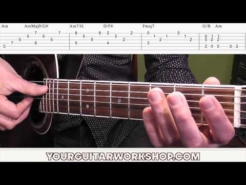 Guitar Lesson How To Play Stairway To Heaven By Led Zeppelin