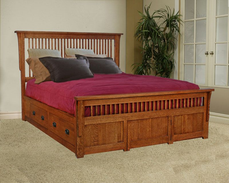 Mission Under Storage Bed Portland Bedroom Furniture