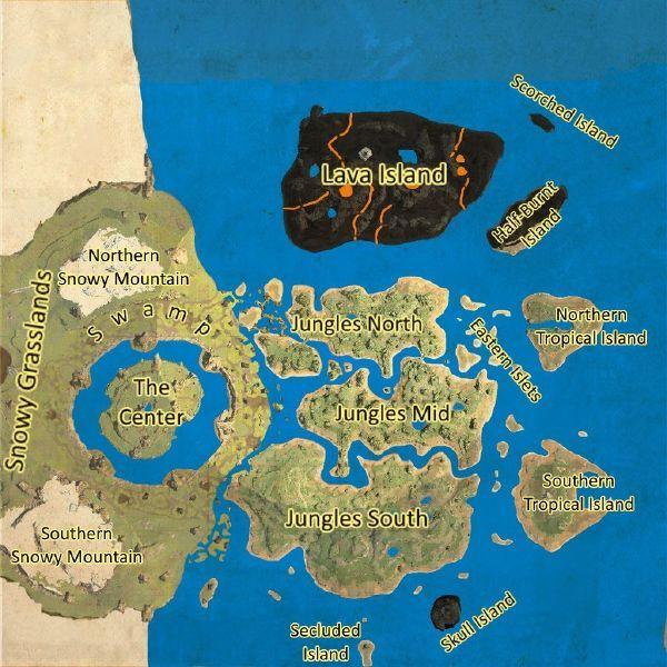 The Center Game Ark Survival Evolved Ark Survival Evolved Ark Survival Evolved Tips