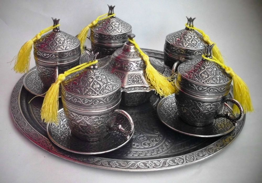 Details about TURKISH NESCAFE SET Coffee Mugs Sugar Bowl