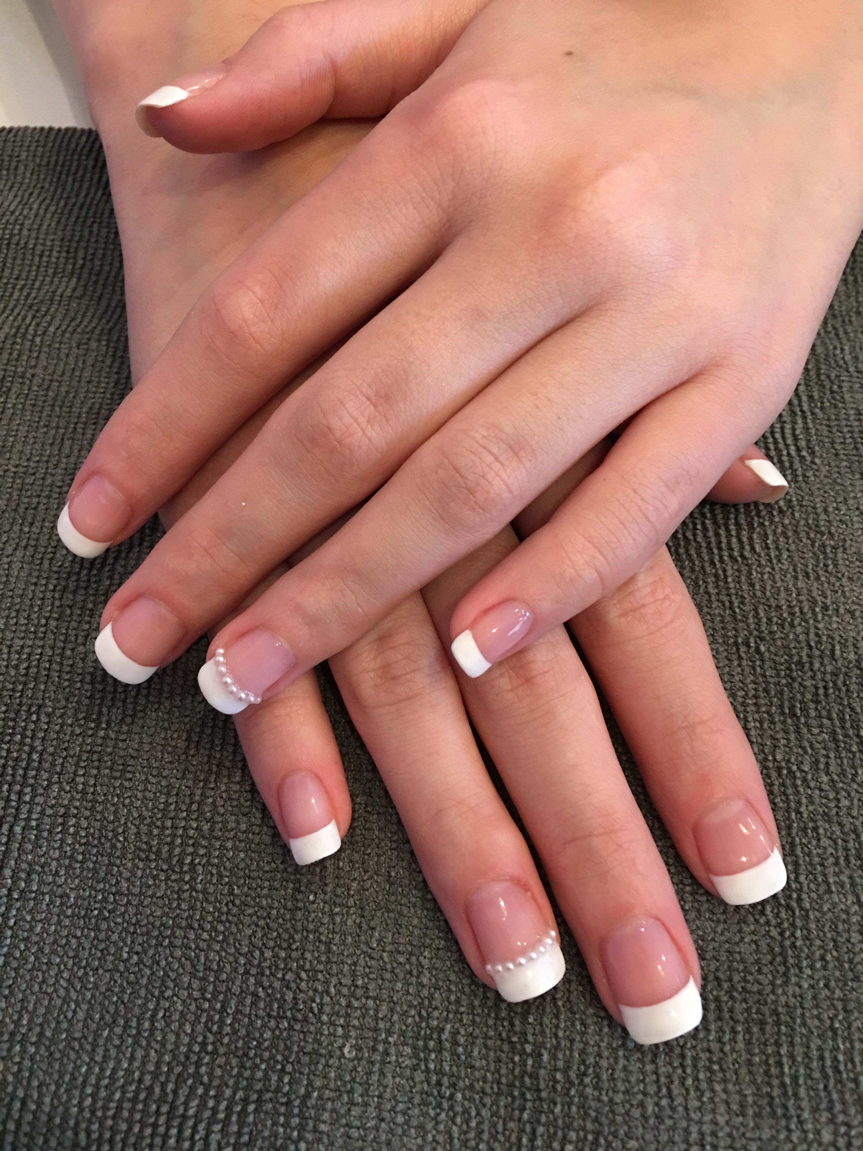 French Gel Manicure On Natural Nails Gel Manicure Natural Nails Manicure