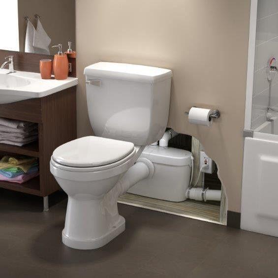 SaniAccess 3 by Saniflo Upflush toilet, Toilet, Add a