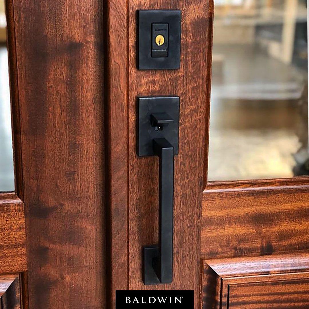 Smartphone Meet Smart Lock This Baldwin Evolved Handleset Project