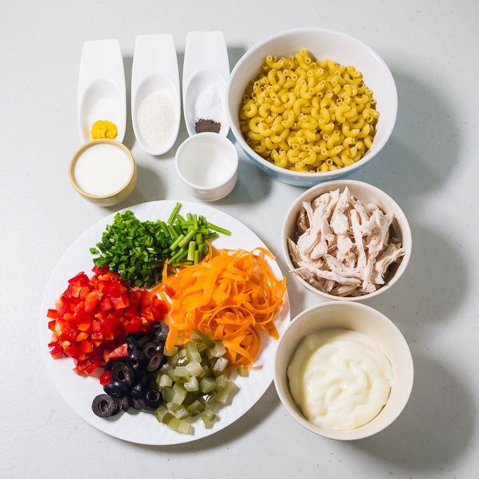 Chicken Macaroni Salad Recipe Filipino Style Recipe Recipes