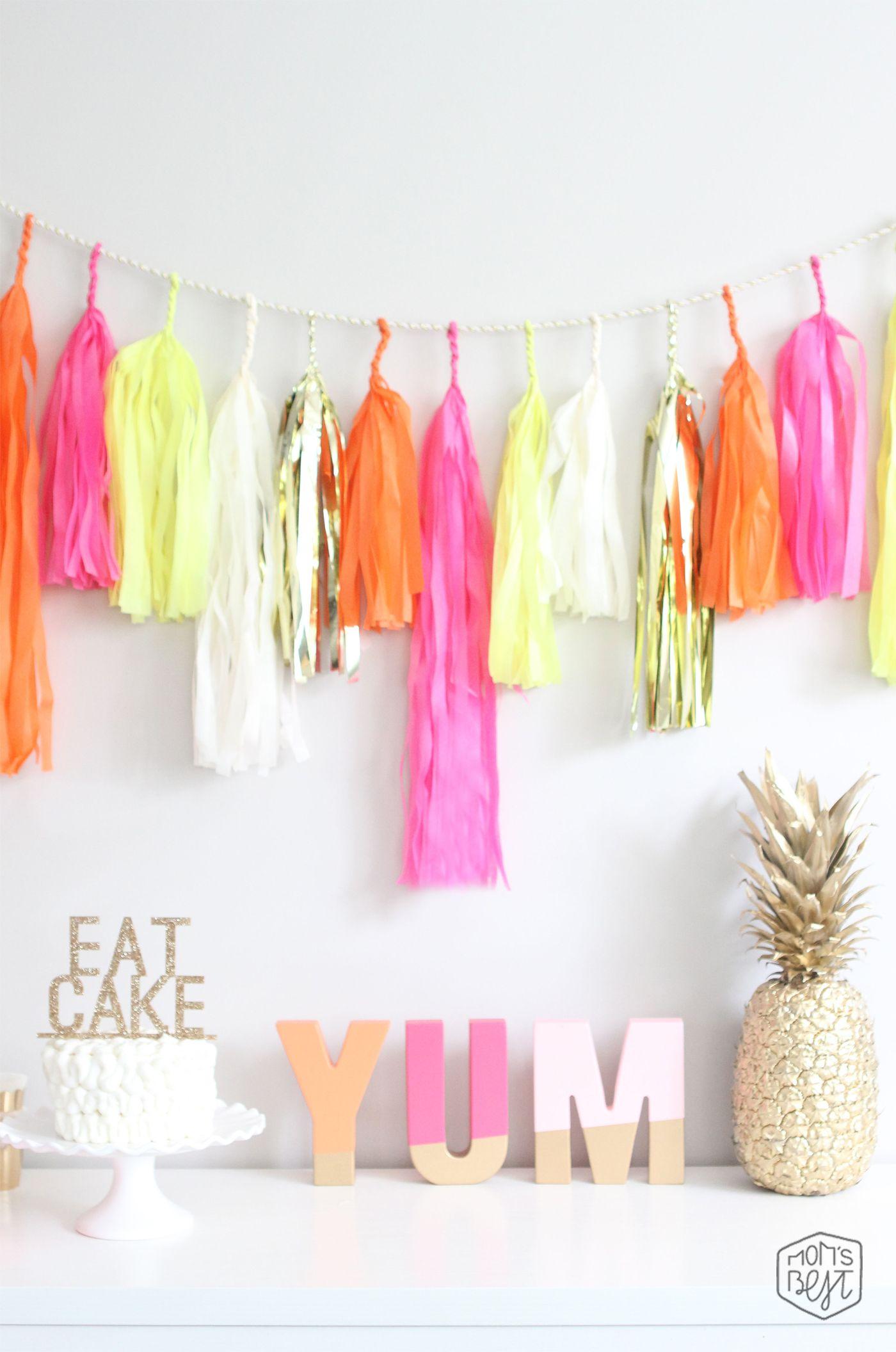 summer popsicle party Mom's Best Network Decoración de