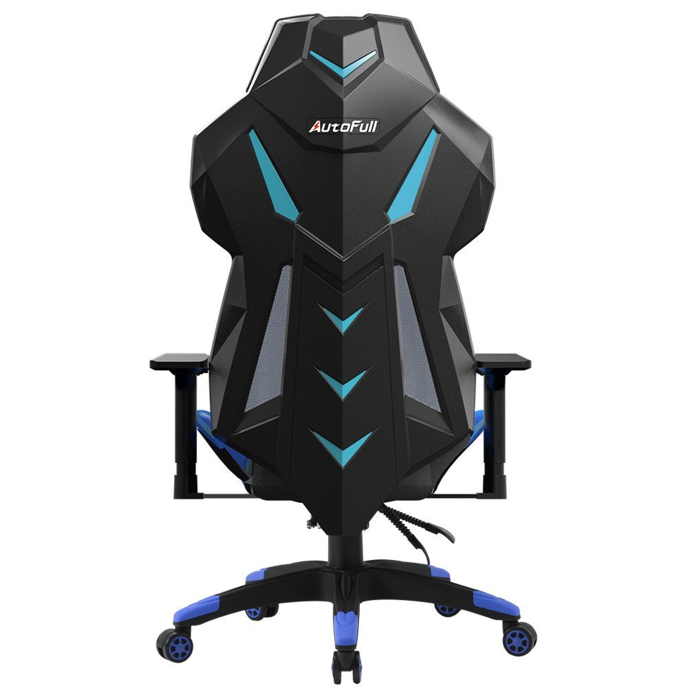 Merveilleux AutoFull Gaming Chair High Back Computer Chair, Ergonomic Racing Chair ,  Swivel Executive Esports Office Chair With Headrest Pillow And Lumbar  Support(Blue)