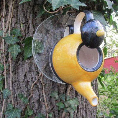 84 best tea pot birdhouses images | Bird feeders | Pinterest | Tea Tea Pot Bird House Designs on silver bird houses, tree bird houses, really easy bird houses, christmas bird houses, porcelain bird houses, watering can bird houses, pan bird houses, flower bird houses, teacup bird houses, coffee bird houses, tea cup bird feeder poem, vintage bird houses, cream bird houses, clock bird houses, box bird houses, book bird houses, basket bird houses, easy to make bird houses, spoon bird houses, kettle bird houses,