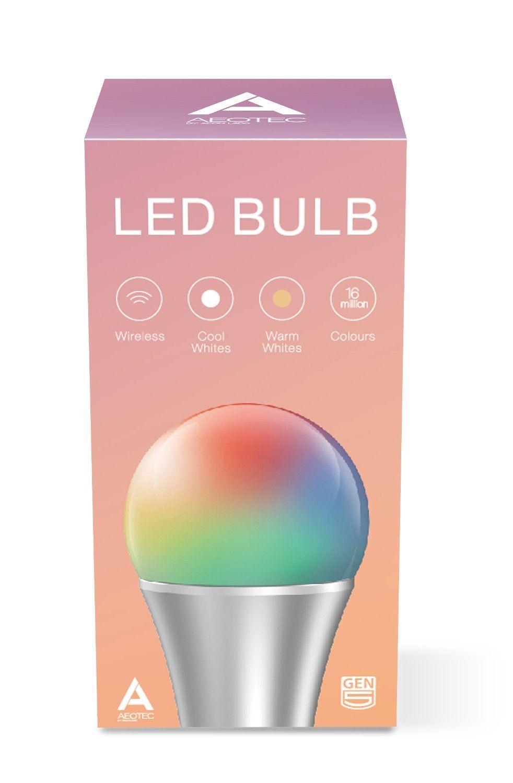 Aeotec By Aeon Labs Z Wave Plus Led Bulb Gen5 Zw098 A52