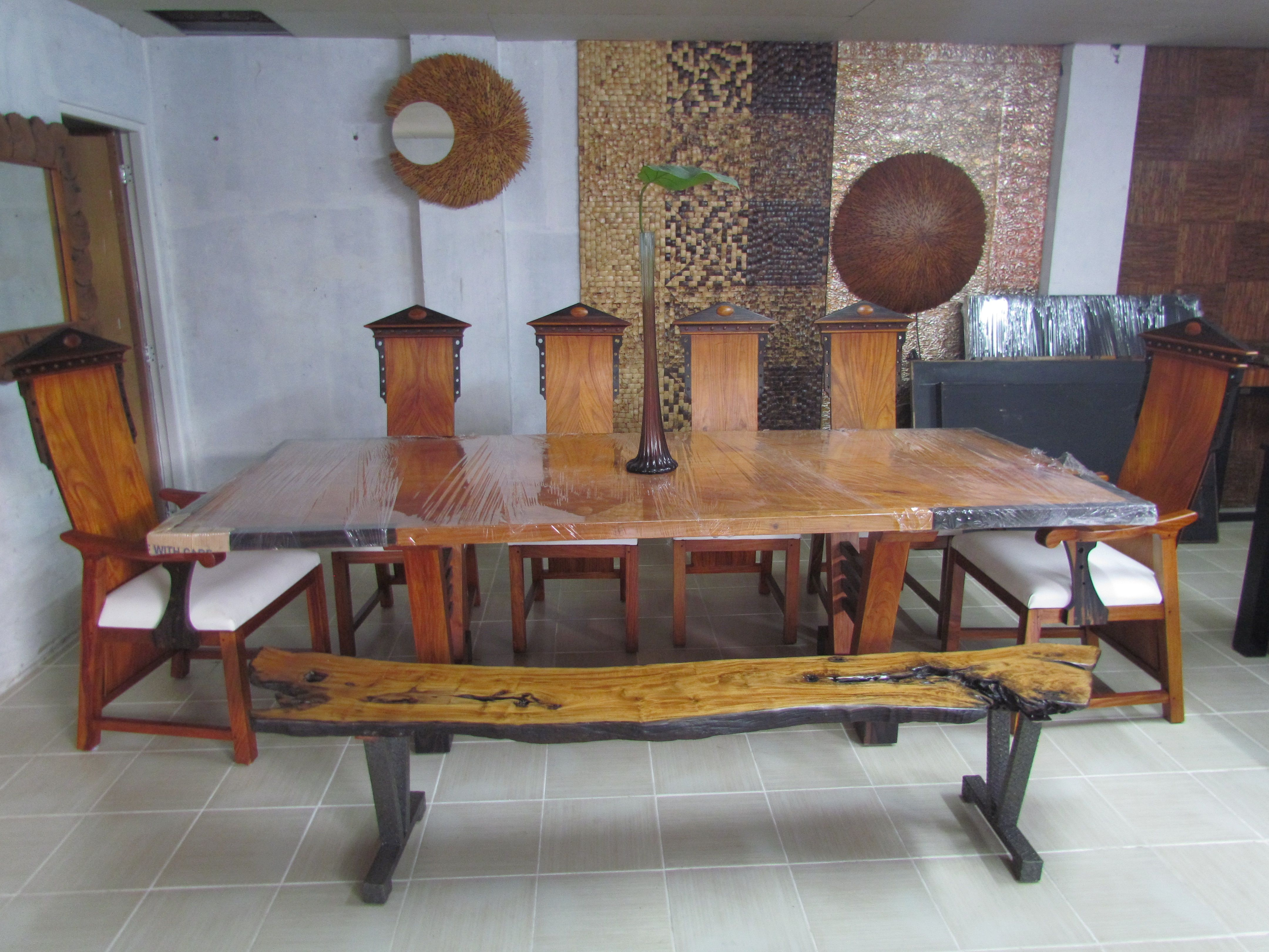 Dining Table For 10 Made From Narra And Kamagong Wood