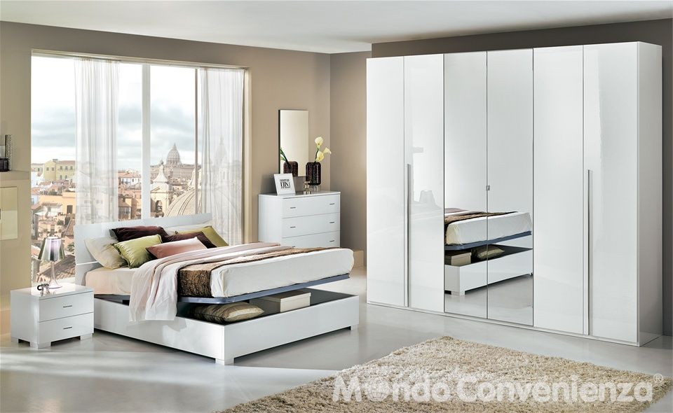 Camera da letto Lux - Mondo Convenienza | Home