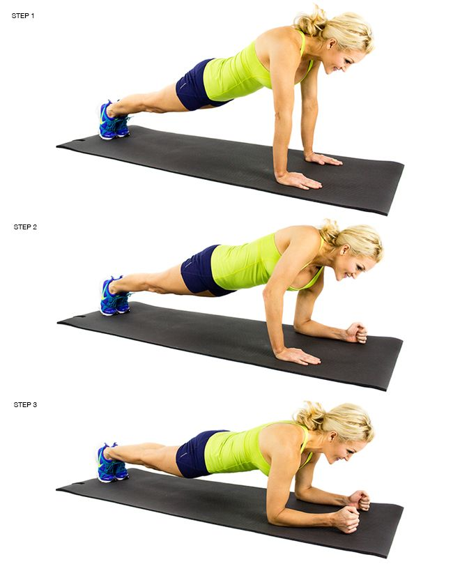 Plank Up Downs Abs Workout Video Abs Workout Workout