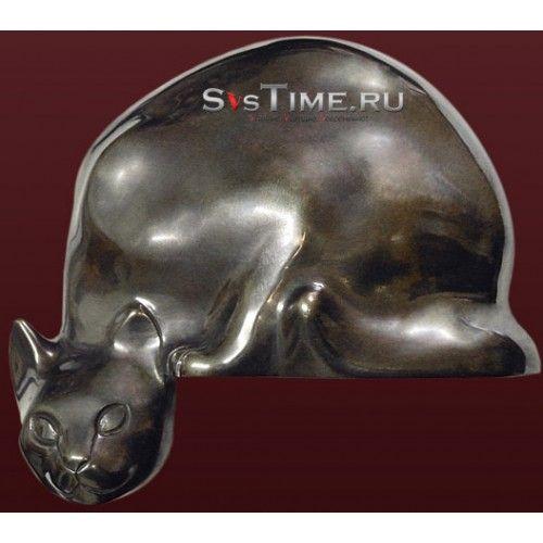 Статуэтка Кот-Васька из бронзы Производитель: Vel Модель: Vel 03-08-03-08800 Цена: 5.130 р    Материал: Бронза  Вес: 1200 гр