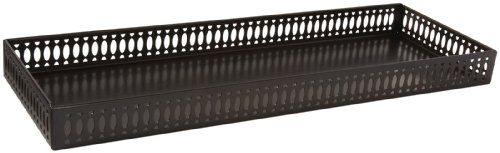 Taymor 02-D1090CORB Oil Rubbed Bronze Large Vanity Tray