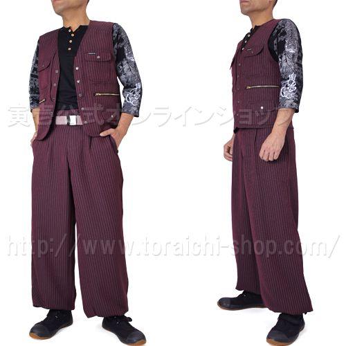 Toraichi 4309-611 Vest 4309-414 Long knicker pants