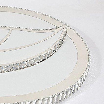 Blätter Kristall Deckenleuchten, LED Deckenleuchte Wohnzimmer K 9 - led deckenleuchte küche