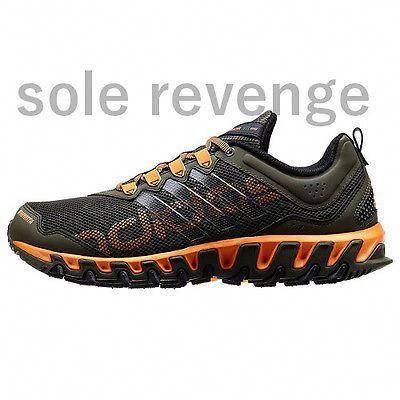 feb2cf554d30b Nuevo Adidas para hombre VIGOR 4 Trail Running Zapatos al Aire Libre Tr  Earth verde negro naranja