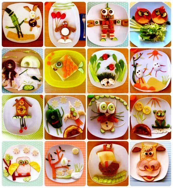 Creative way to Present Food for Kids...