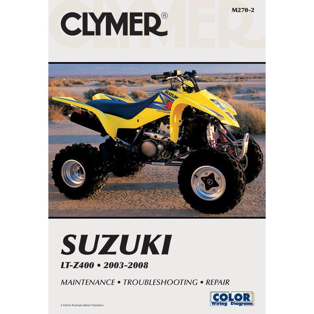 Clymer Suzuki LT-Z400 (2003-2008)