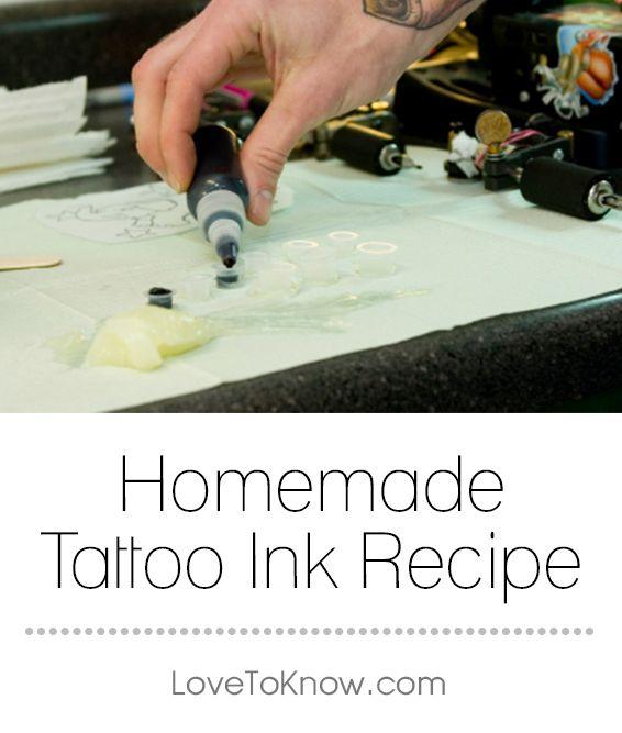 Photo of Homemade Tattoo Ink Recipe   LoveToKnow