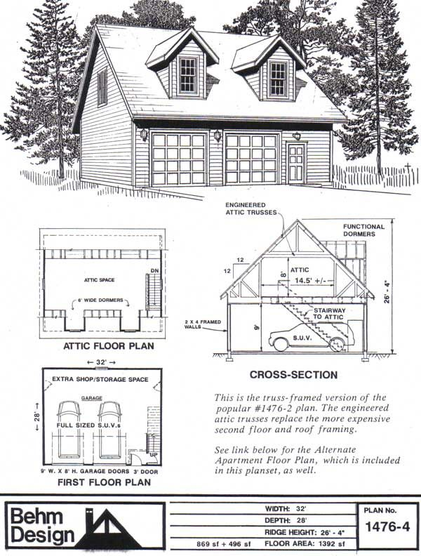Plans for a 28x32 Garage Build any suggestions The Garage Journal – 28X32 Garage Plans