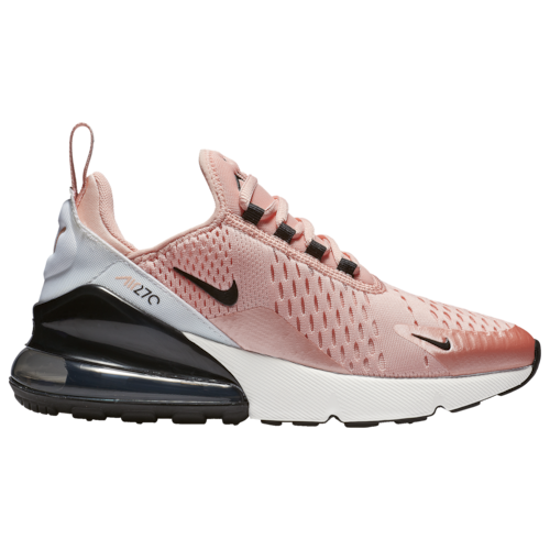 Nike Air Max 270 Casual Running Shoes – Bleached Coral / Black White Anthracite
