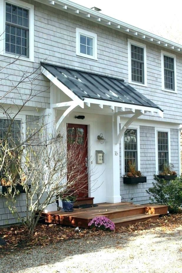 Tags1 Front Door Canopy Porch Over Rain Cover Awning