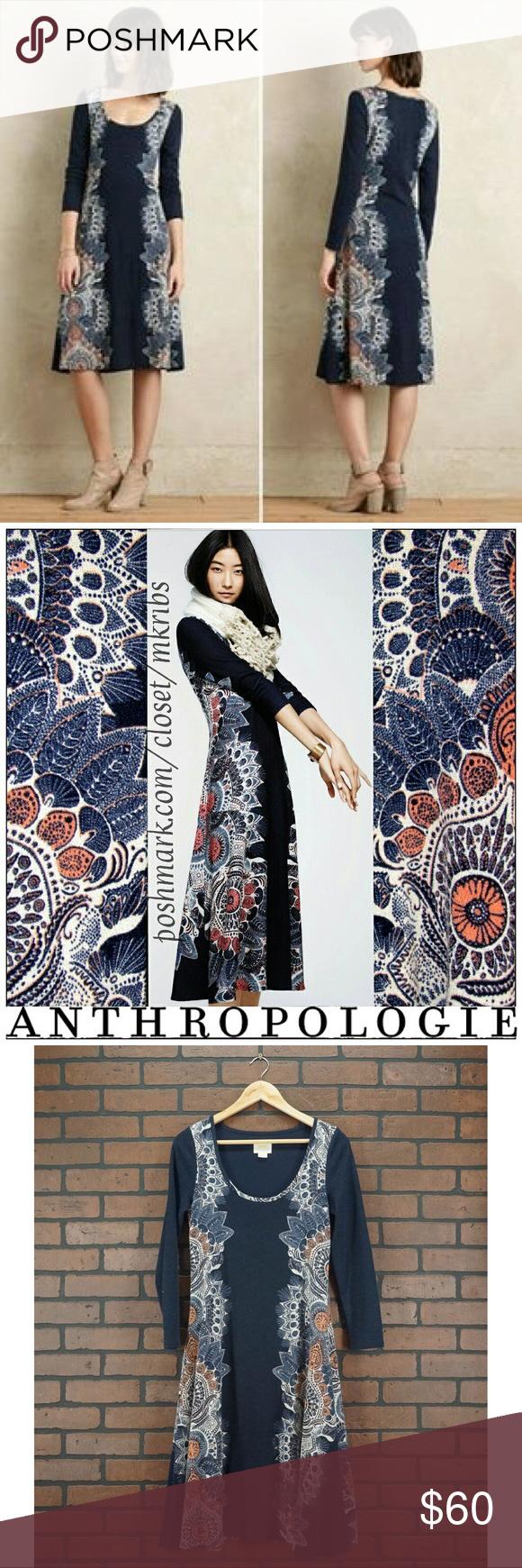 9d39cc95730 ANTHROPOLOGIE Maeve Eria Sweater Dress Size Small Brand  Anthropologie  Style  Maeve Eria Sweater Dress