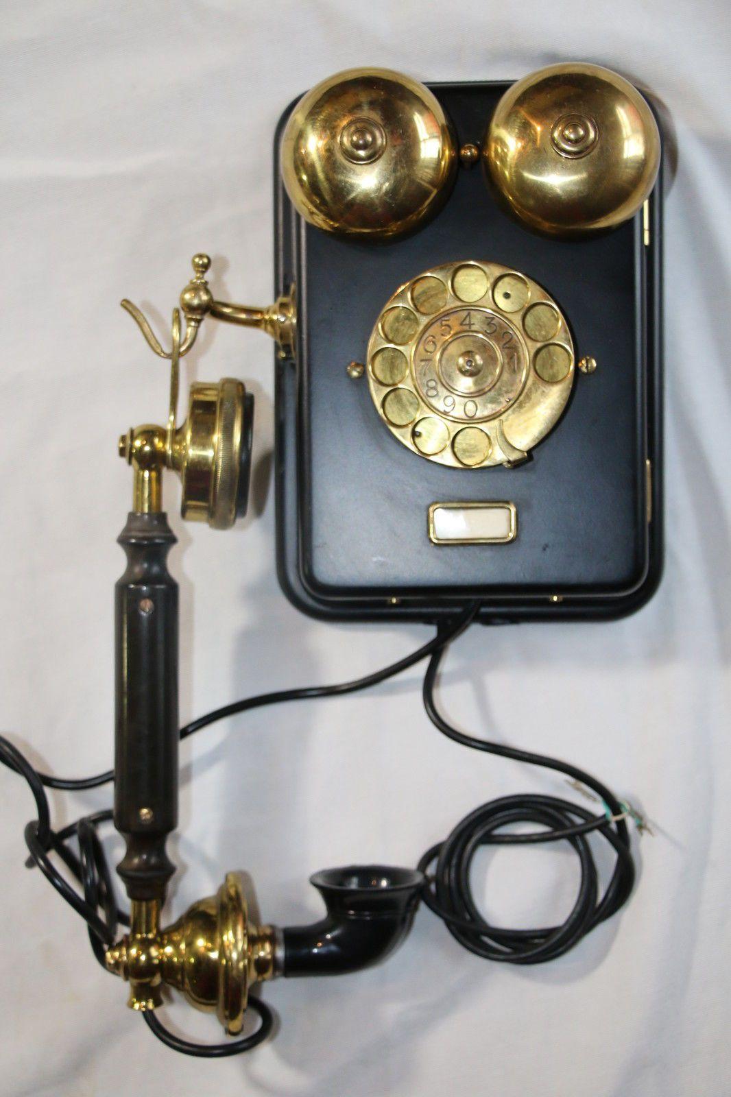 Antique Desk Telephone Ericsson Mod de 100 1928 | eBay - Antique Desk Telephone Ericsson Mod De 100 1928 EBay Phones