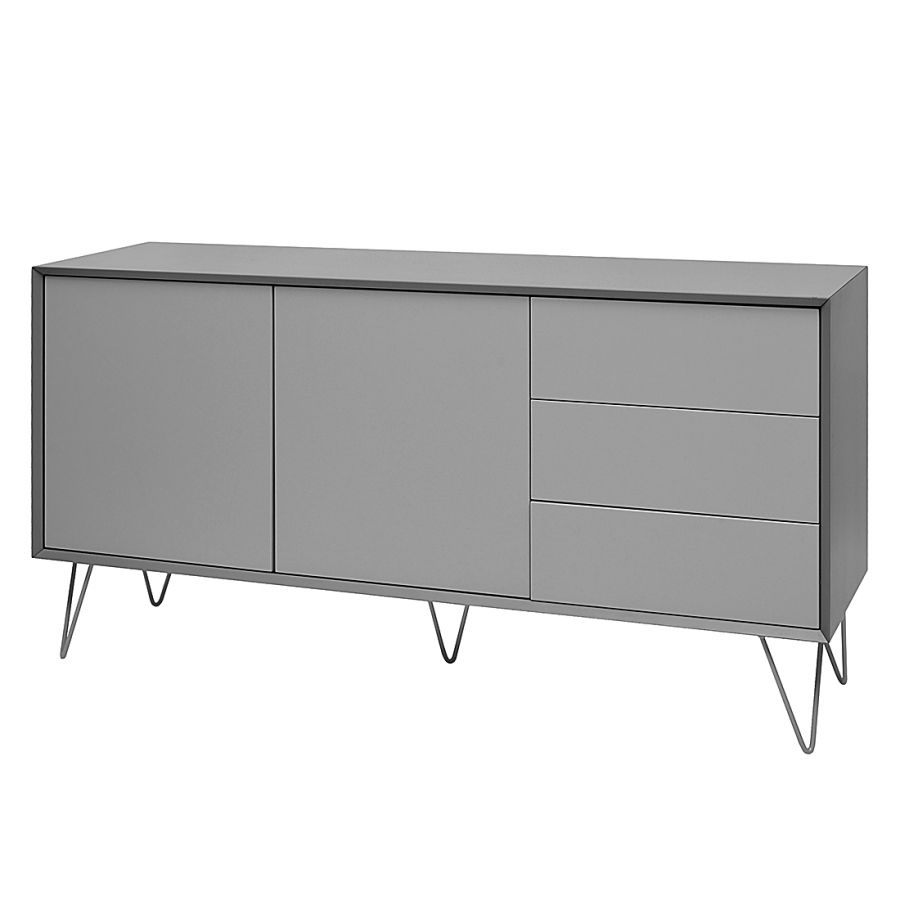 sideboard jerrell i matt grau hausausbau pinterest. Black Bedroom Furniture Sets. Home Design Ideas