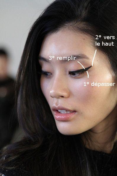 Gros Trait Eyeliner Asiatique
